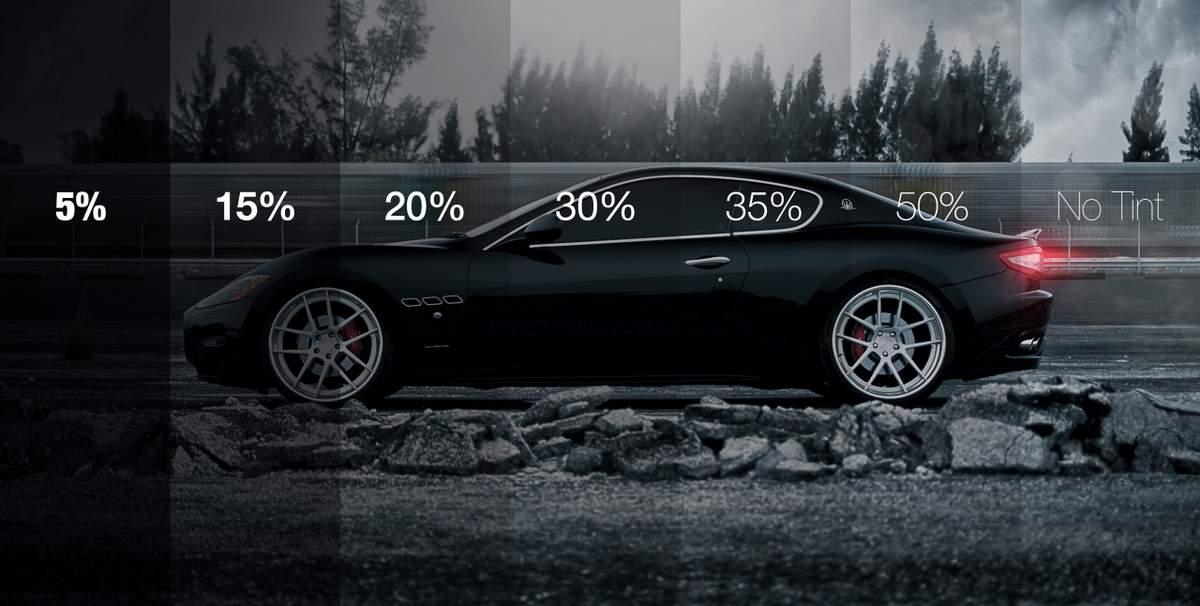 тонировка 35% процентов фото